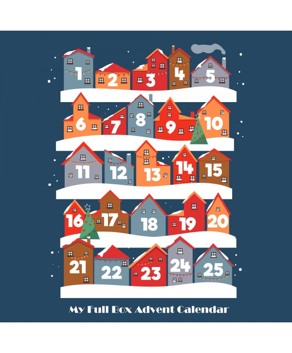 My Full Box Advent Calendar - 12 Days of Christmas