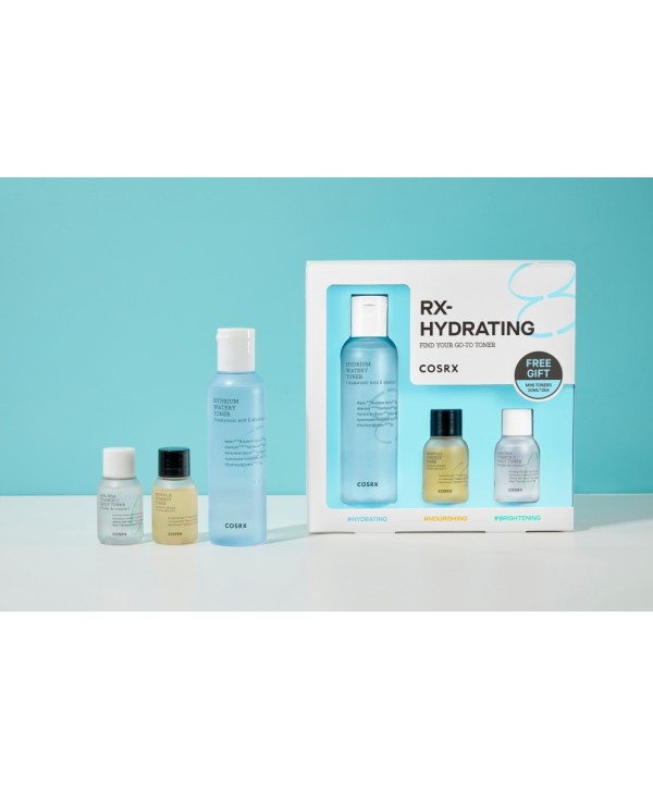 My MINI Full Box - COSRX Find Your Go To Toner RX Hydrating