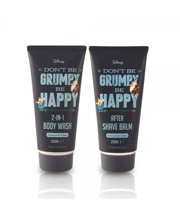 Men Mini Box - MAD Beauty Disney Grumpy Shower Duo
