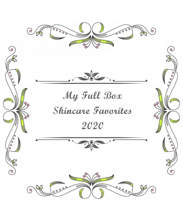 My Full Box - Skincare Favourites 2020
