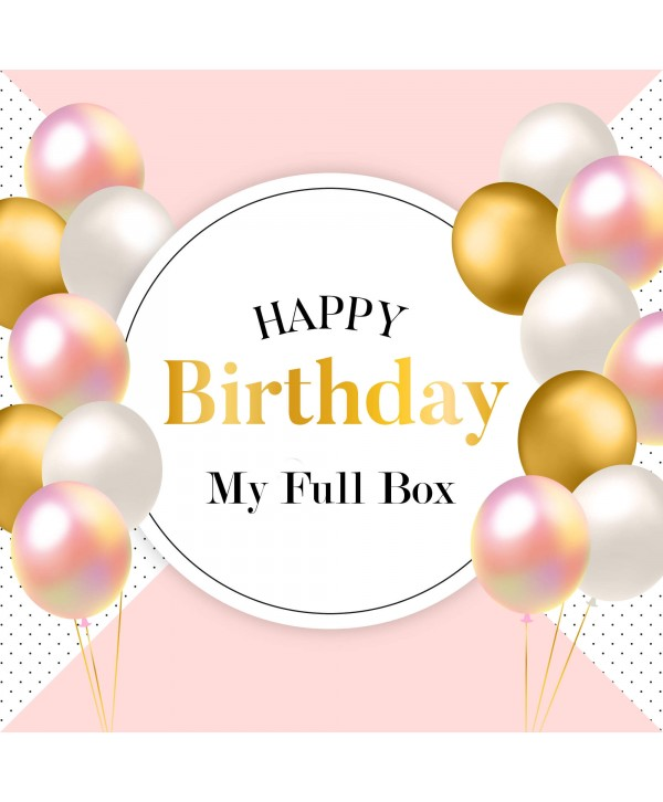 My Full Box - Birthday Edition
